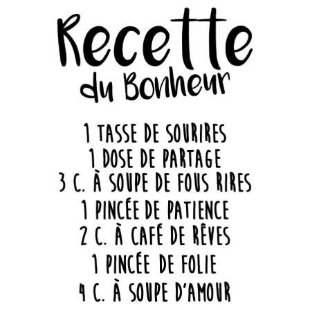 stickers recette de cuisine stickers recette du bonheur stickers malin