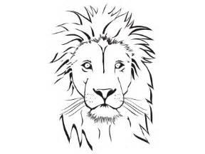 Coloring Page Lion Head lion head coloring page lions head