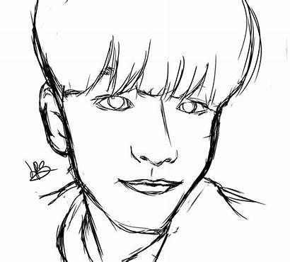 Semi Realistic Drawing Stray Seungmin Clipartmag
