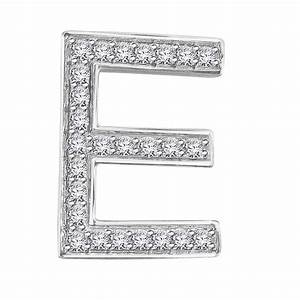 Hand crafted fine jewellery sydney diamond letter 39e for Diamond letter e
