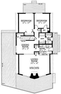 master bedroom floor plans the a frame house plan revisting a 39 50s sensation