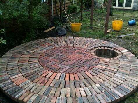 Circular Reclaimed Brick Patio With Recessed Fire Pit. Patio Table Top Diy. Patio Tablecloths With Elastic. Patio Chairs Outdoor Bar Stools. Patio Furniture Refinishing Austin Texas. When Does Patio Furniture Go On Sale At Target. Rustoleum Patio Furniture Paint Colors. Coupon For Patio Furniture Supplies. Used Patio Furniture Ny