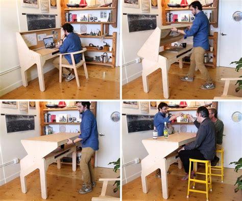 bar bureau 2 vliegen in 1 klap bureau verandert in bar wanneer de
