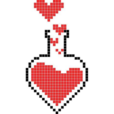 philtre damour dessin pixel dessin carreau modele