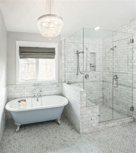 Salt Lake City Stand Up Shower Bathroom Traditional With