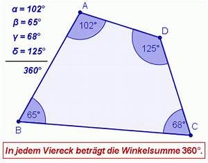 Viereck Winkel Berechnen : winkelma e im viereck berechnen interaktive bung mathematik realschule klasse 7 ~ Themetempest.com Abrechnung