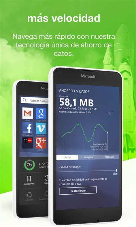 navegadores para windows phone trucos galaxy
