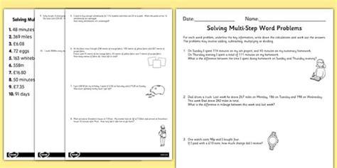 Word Problems Ks3  Maths, Problems, Worksheet