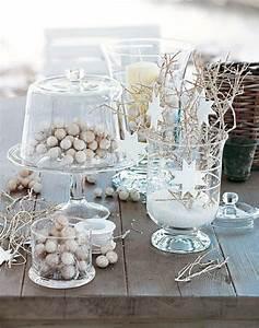 Table De Fete Decoration Noel : d co no l faire soi m me en branches adopter les ~ Zukunftsfamilie.com Idées de Décoration