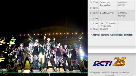 exo jakarta konser exo di jakarta diputar di tv 15 september