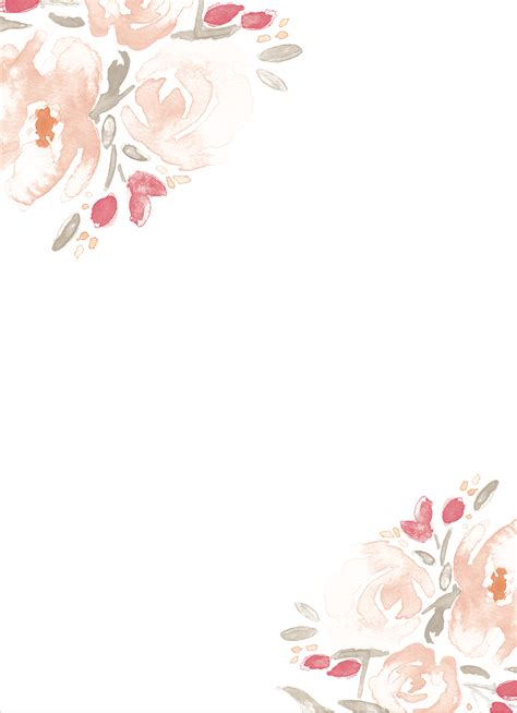 watercolor bouquet wedding invitations