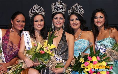 Q And A Janina San Miguel Binibining Pilipinas 2008 Winners