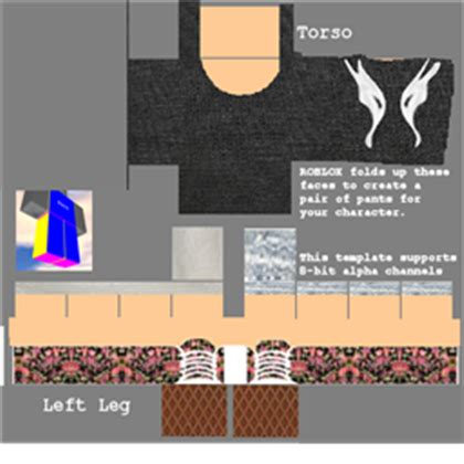 Roblox Clothes Template Choice Image - Template Design Ideas