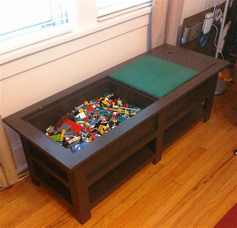 kids  coffee table     lego table