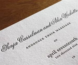 letterpress wedding invitation font choicesfonts for your With traditional wedding invitations font