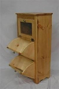 Organizer Storage Vegetable Bin Woodworking Plan