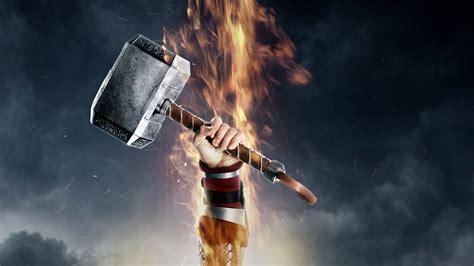 thors hammer wallpaper 77 images