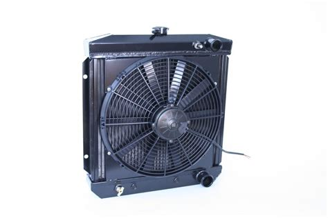 dewitts   ford mustang radiator fan combo