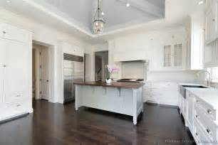 white kitchen wood island pictures of kitchens traditional white kitchen cabinets page 4