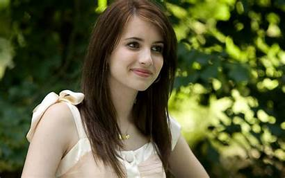 Attractive Very Beauty Face Area Pretty Woman