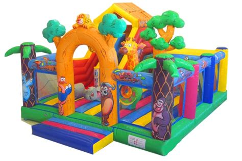 jeux de cuisine jungle multi activité jungle chateau gonflable dynamic