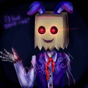 Withered Bonnie- FNAF-Fan art (I look good now) by ...