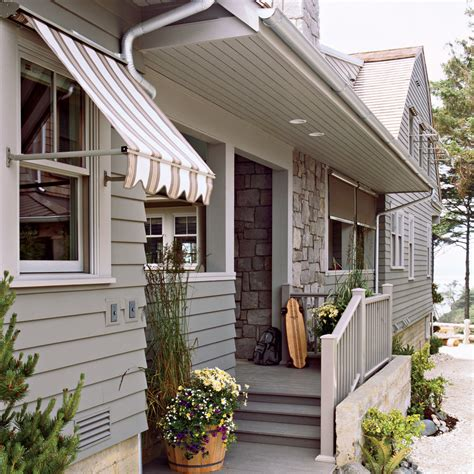 style house canap design tip use window awnings coastal living