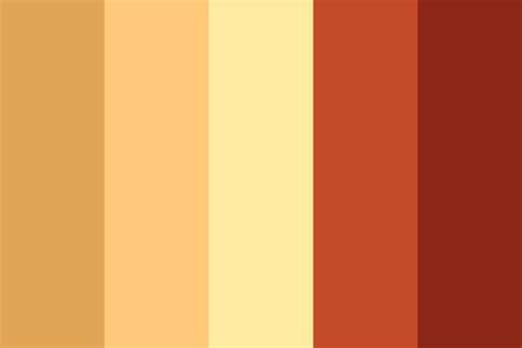 Pizza Pie Color Palette