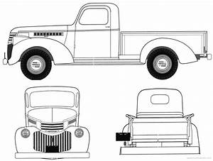 chevrolet clipart ford pickup pencil and in color With 1955 ford f100 rat