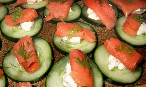 recette canapé saumon canapés concombre saumon ma cuisine santé