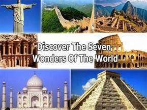 7 Wonders of the Modern World