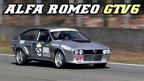 alfa romeo gtv racecar nice  sounds zolder
