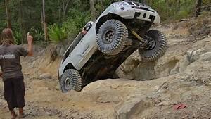 Suspenseful 4x4 Rock Crawl On 42 U0026quot  Tires   Commodore Hill