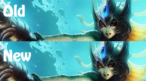 surrender    pbe update namis splash change