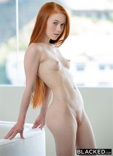 Shaved Petite Redhead Dolly Little with Small Tits ...