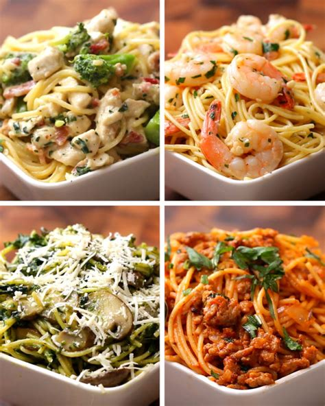 make spaghetti here are four heavenly easy ways to make spaghetti