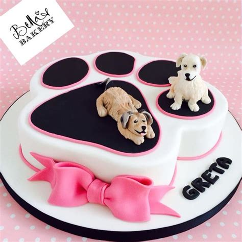 puppy party dog cake animal parties   cake