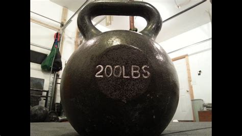 kettlebell 200 pound lifting