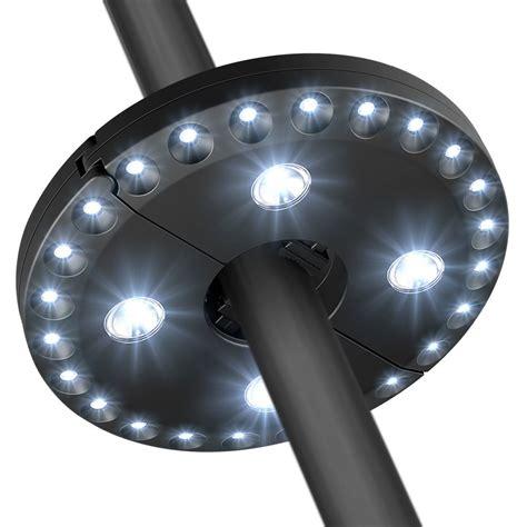 Battery Operated Umbrella Lights by Best In Patio Umbrella Lights Helpful Customer