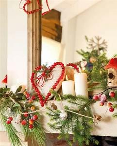 Deko Zweige Rote Beeren : 55 weihnachtsdekoration ideen f r ihre besinnliche ferienzeit ~ Sanjose-hotels-ca.com Haus und Dekorationen