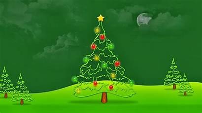 Christmas Background Tree Looking Desktop Wallpapers Mobile