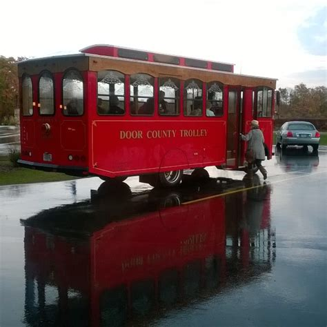 door county trolley 10 things to do on a rainy day in wisconsin the bobber
