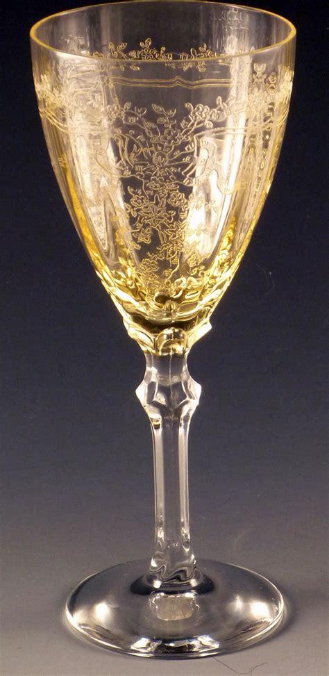 Fostoria Fairfax Stemware  Gorgeous Vintage Goblets In