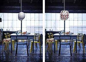 Ball Ceiling Light Ikea Ps 2014 Pendant A Lamp That Dims While Changing Looks