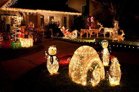 lighted christmas outdoor decorations lovetoknow