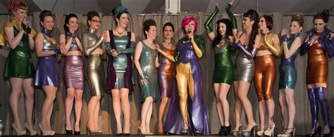 baroness latex fashion show   rubber world