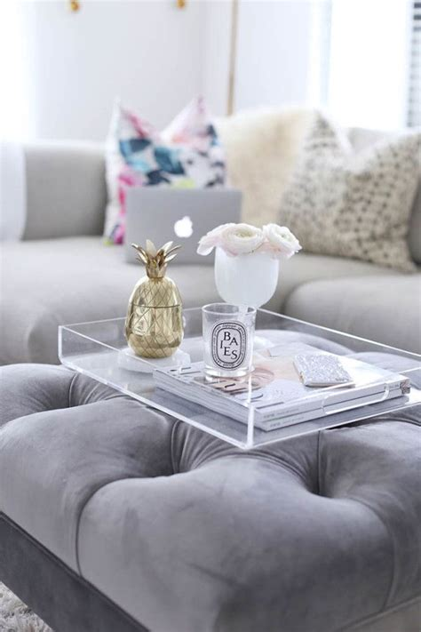 A coffee table does a lot of work. things to put on a coffee table Collection-5 Blogger Coffee Tables To Copy Ideas For Decorati ...