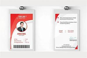 office newspaper template employee id card template by nasirgrfx on creativemarket