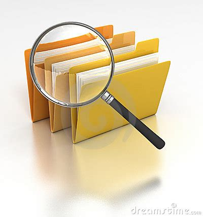 Searching Files Royalty Free Stock Images  Image 13179419