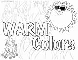 Warm Coloring Colors Teaching Connecticut Larger Credit sketch template